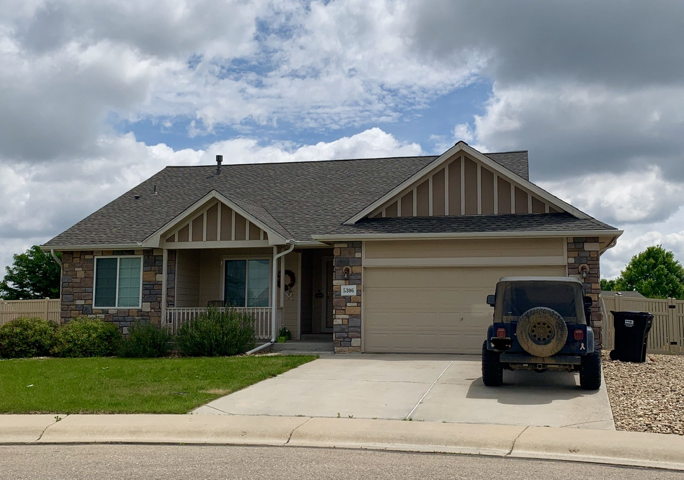 Best We Installed A New Roof On This Home In Firestone That Was 640 x 480