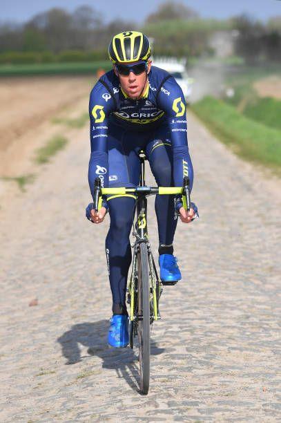 9372b0f22 115th Paris Roubaix 2017   Training Day 1 Matthew HAYMAN   Training   PR