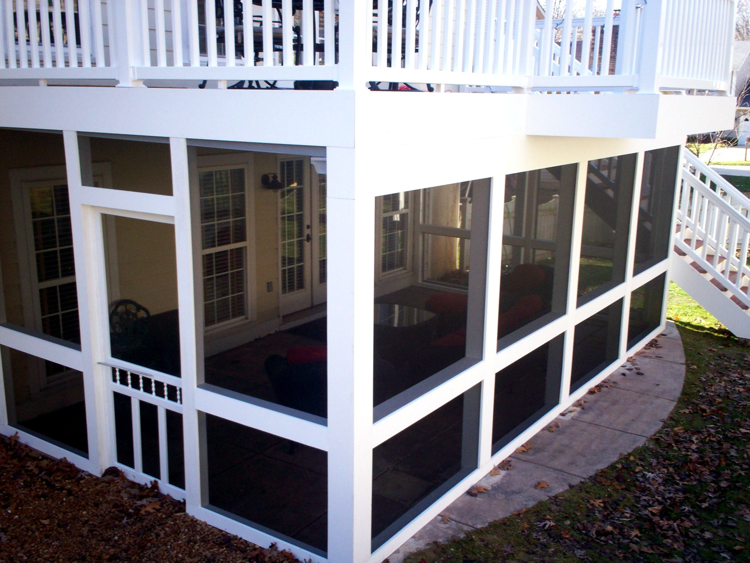Porch With Deck On Top Google Search Second Story Deck Patio Enclosures Building A Deck