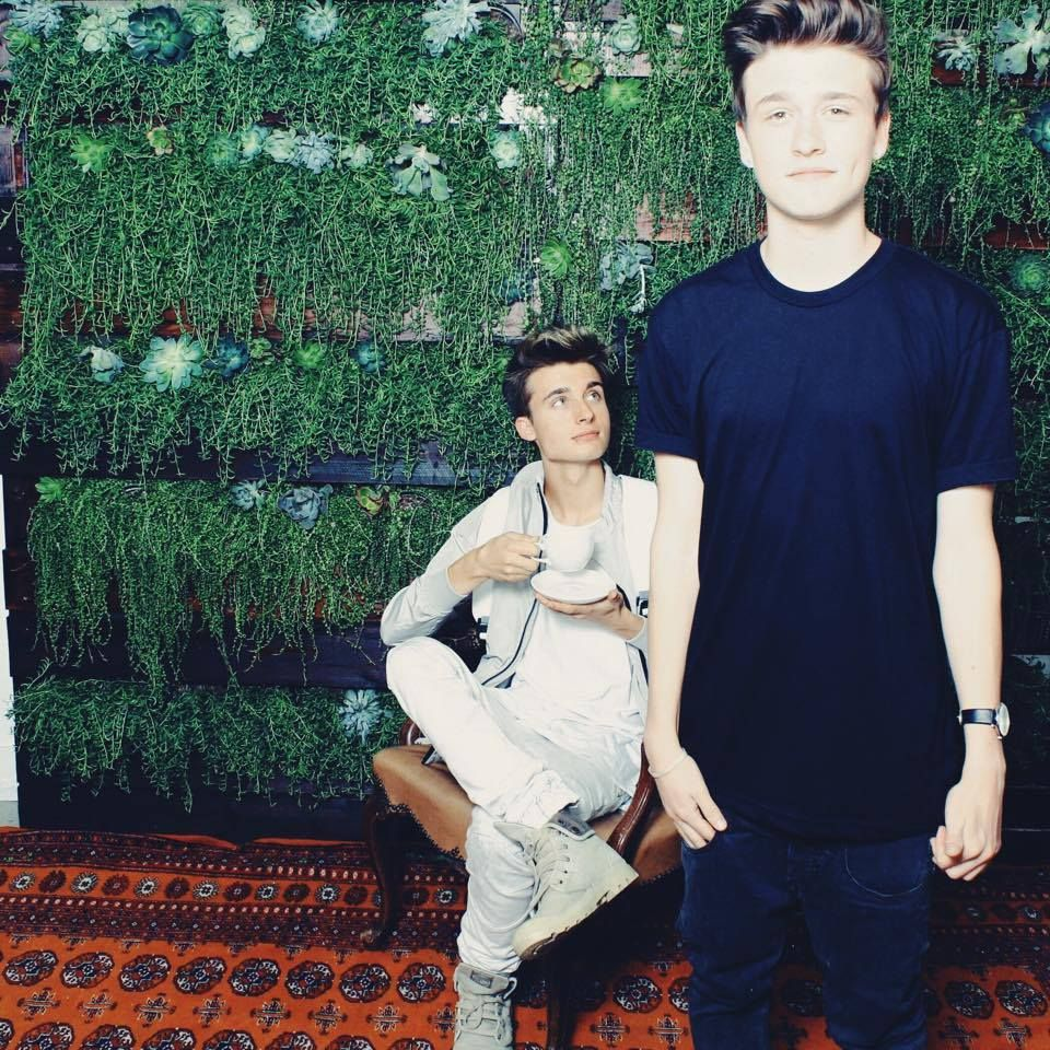 Christian Collins (Weeklychris) & Crawford Collins :)
