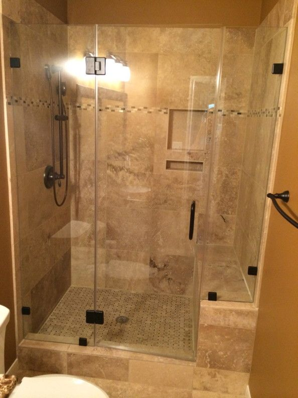 Travertine Tub To Shower Conversion In Conroe Tx / Magnolia Tx Done By Alan  Stone Tile U0026 Stone Bathroom Remodeling Contractor