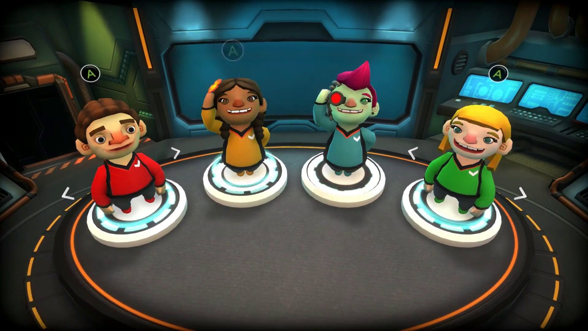 Choose your crew! Party games, Xbox one, Playstation 4