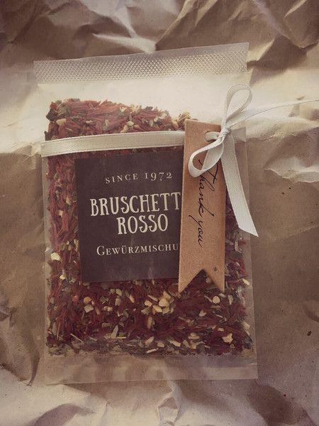 Gastgeschenke Italienische Liebe Bruschetta Gewürzmischung