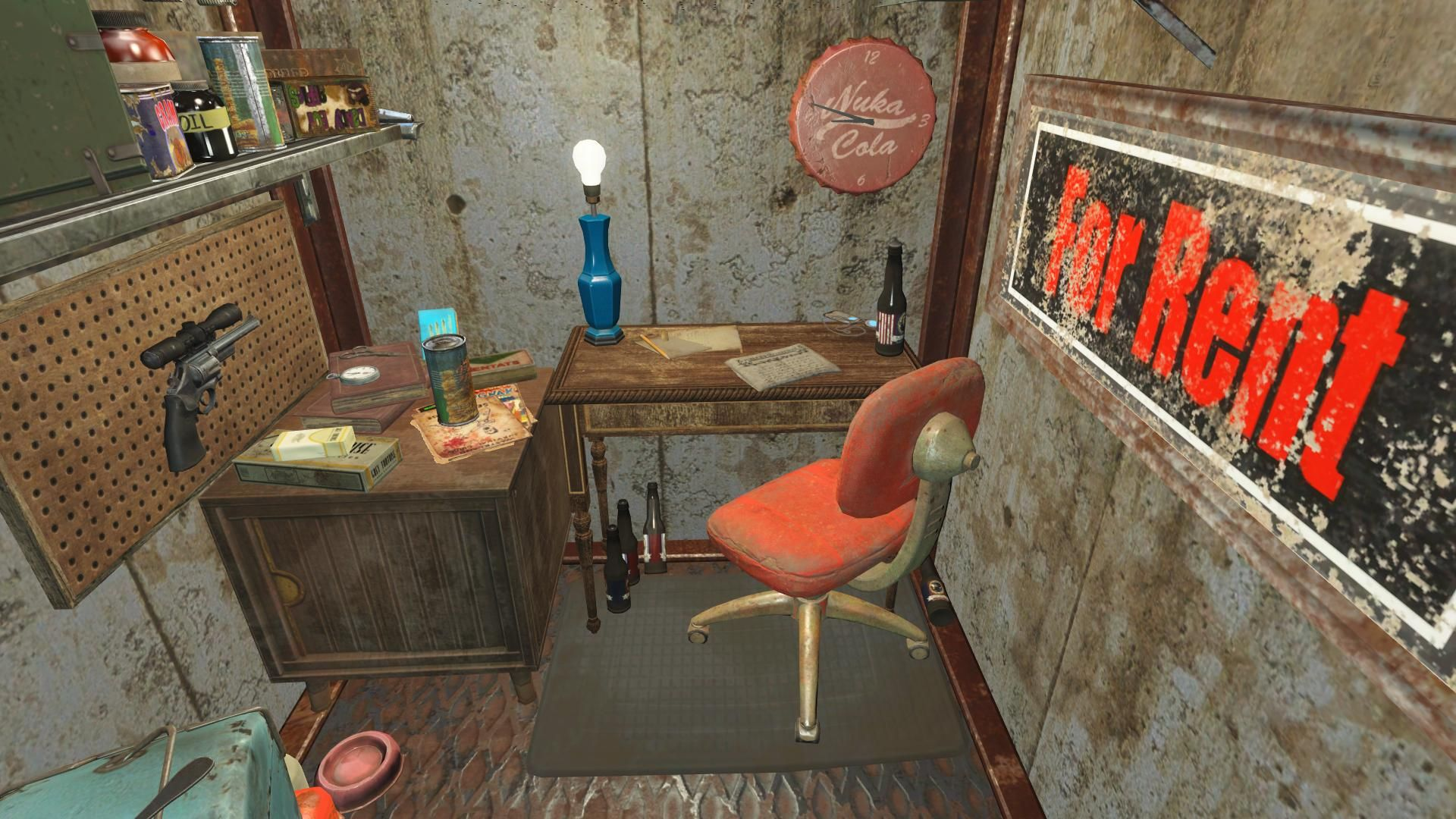 Small Office Fallout 4 With Images Fallout Fallout 4