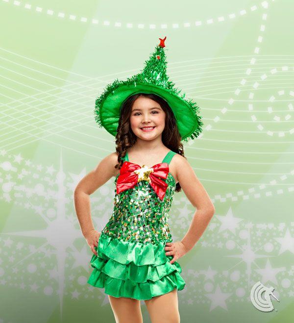 Christmas Tree Cha Cha Trajes Navidenos Vestuario Navidad Vestidos De Fantasia