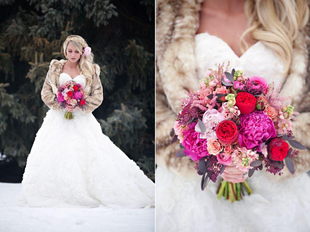 The dress garden utah - Red Garden Rose Pink Peony Valentines Day Inspired Wedding Flowers Utah Calie Rose