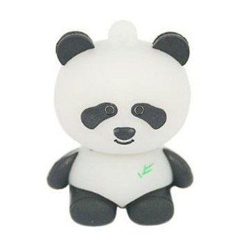 niceeshop creative cl usb en forme de panda 8 go noir blanc informatique usb. Black Bedroom Furniture Sets. Home Design Ideas