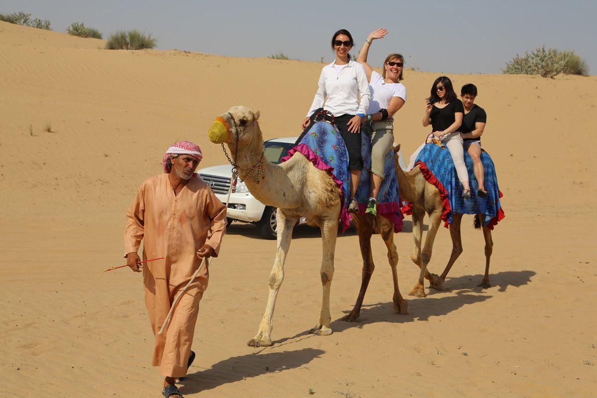 Camel Riding in Desert by Desert  Safari Tours  on 500px