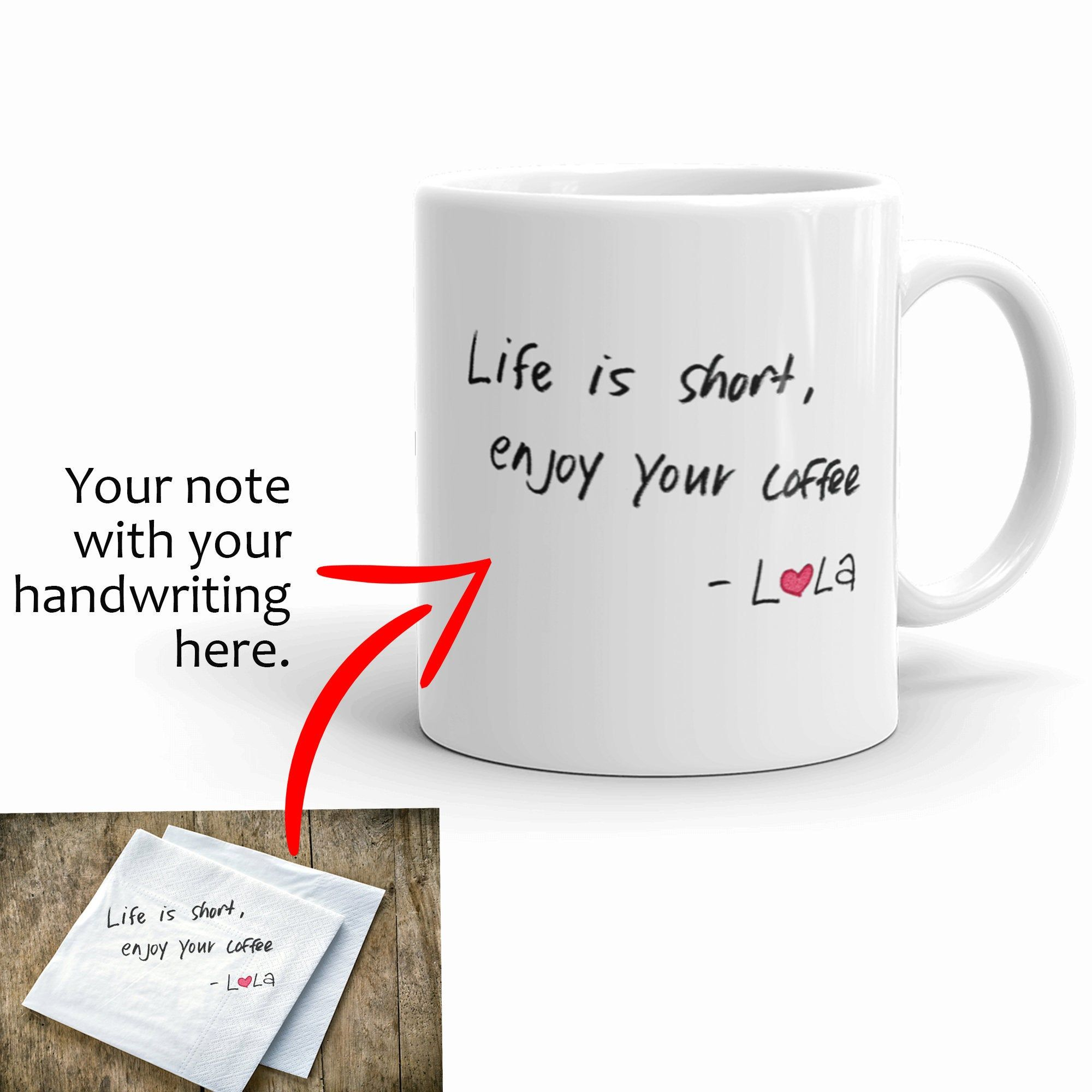 Personalized Gift Custom Mug Gift For Her Gift For Him