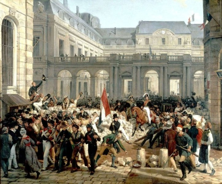 Ten Economic Protests That Changed History July Revolution French History French Revolution
