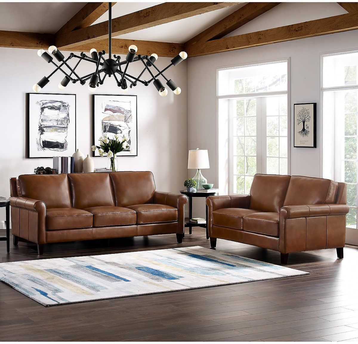 Up To 1 600 Off Costco Furniture Event Costco Dealsplus In 2020 Leather Sofa And Loveseat Top Grain Leather Sofa Sofa And Loveseat Set