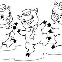 Resultado De Imagem Para Os Tres Porquinhos Desenhos Para