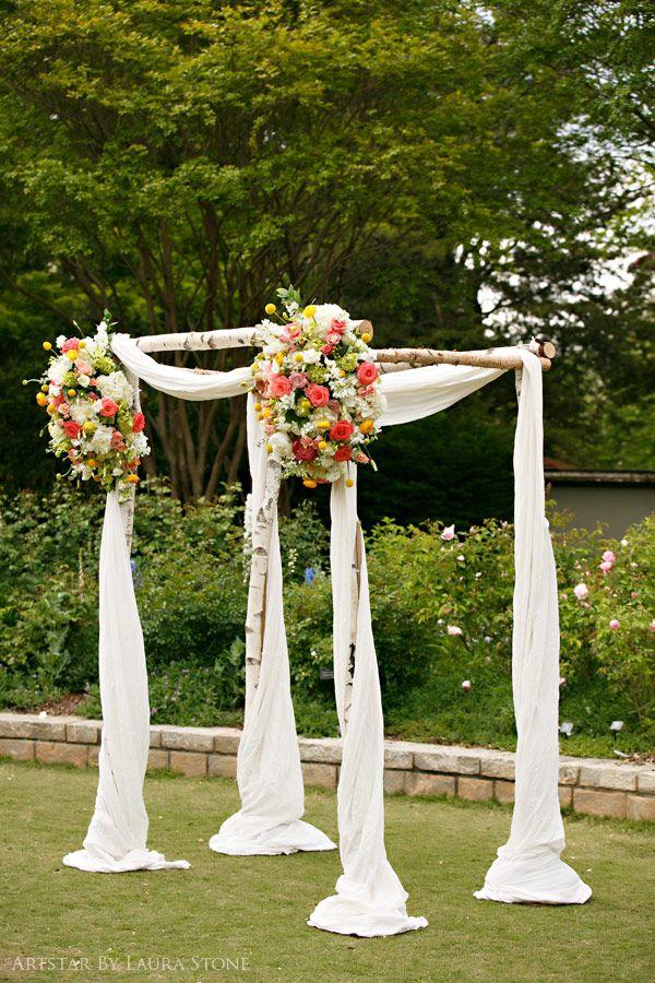 White birch arbor wedding ideas pinterest arbors for Arbor wedding decoration ideas