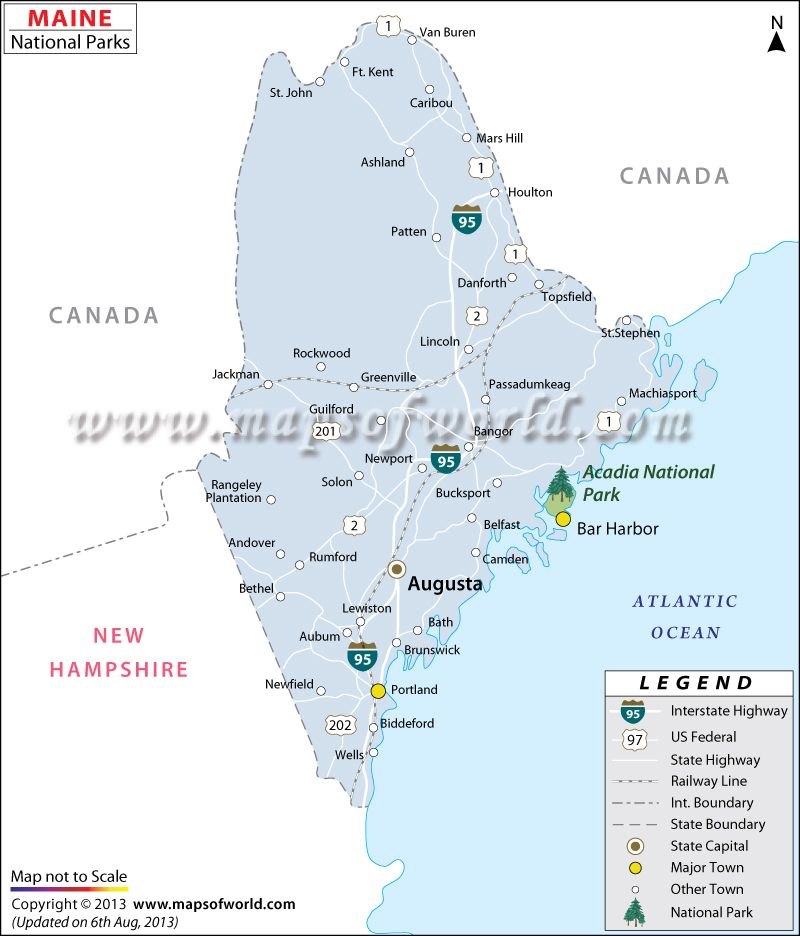Ocean Park Maine Map.Get Maine National Parks On This Map Maps Pinterest