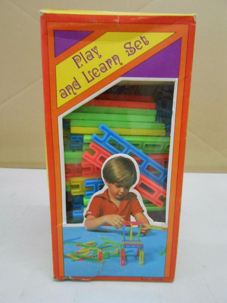 RARE OLD VINTAGE LION EDUCATIONAL TOY SERIES MADE IN HONG KONG PLAY & LEARN