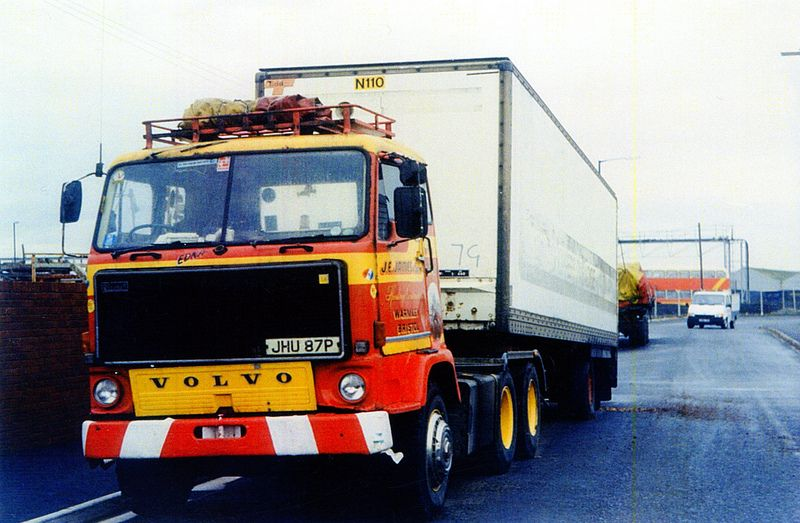 J E James Volvo F88 Of Warmley Bristol Volvo Trucks Commercial Vehicle Classic Trucks