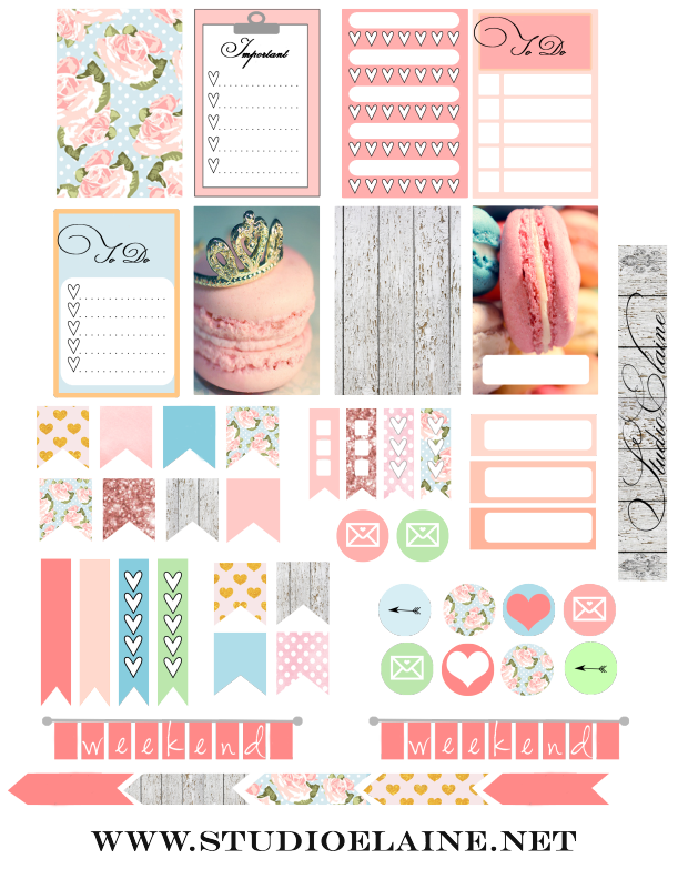 Planner & Journaling Printables Free Planner Stickers