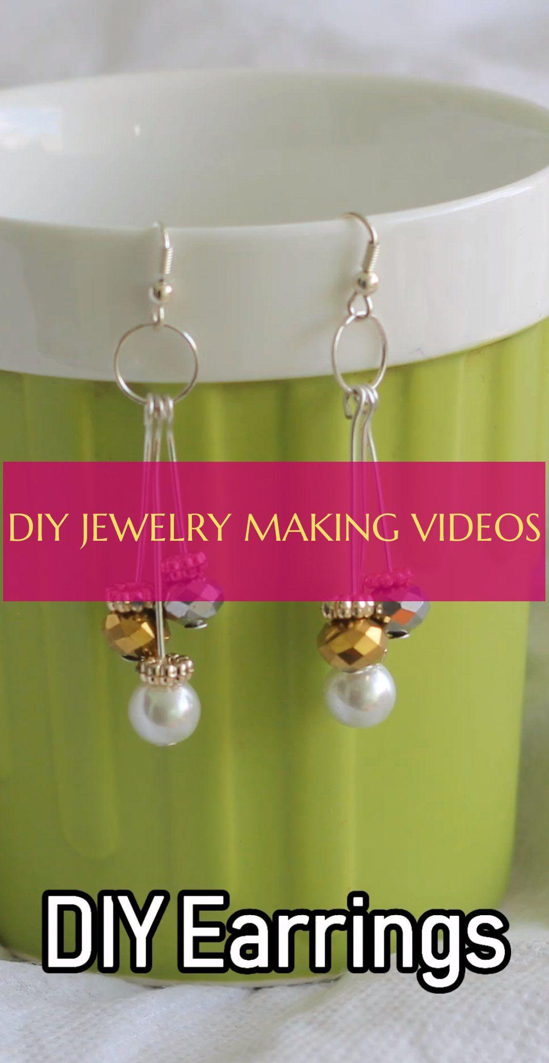 diy jewelry making videos