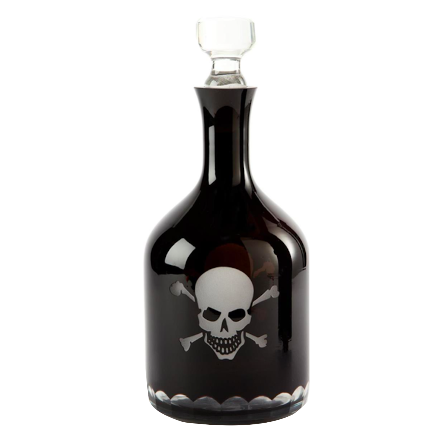 Pirates Decanter With Skull And Crossbones Nautical Themed