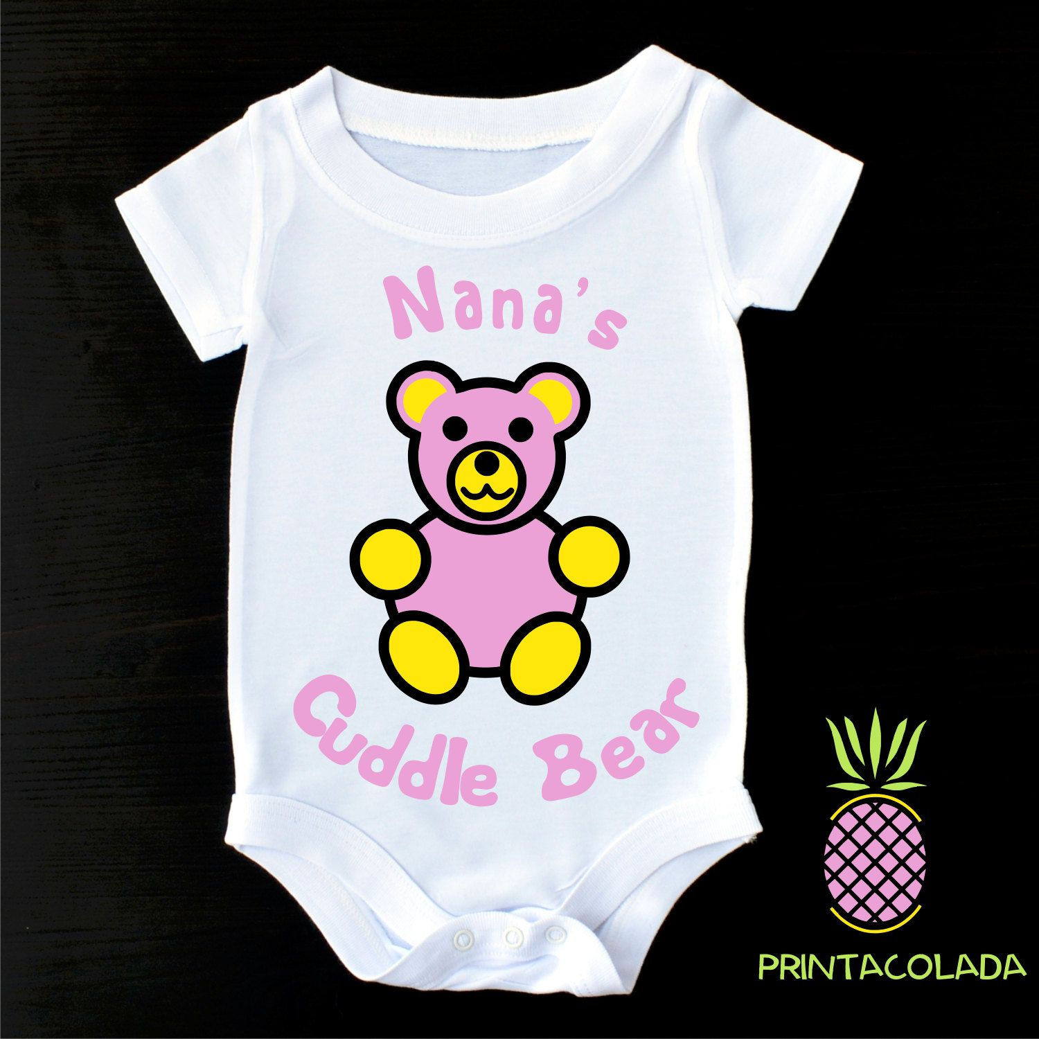 Cute Baby Clothes or Gerber esie Cute Baby esies Nana esie