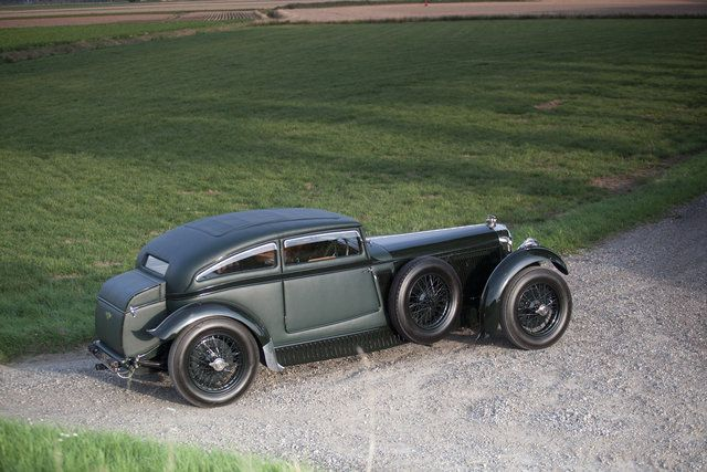 1950 Bentley Special Blue Train Not Two Wheels But