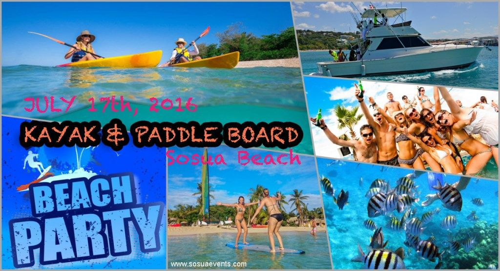 Sosua Bachelor Party And Events Guide Bachelor Party Beach Kayak Kayaking