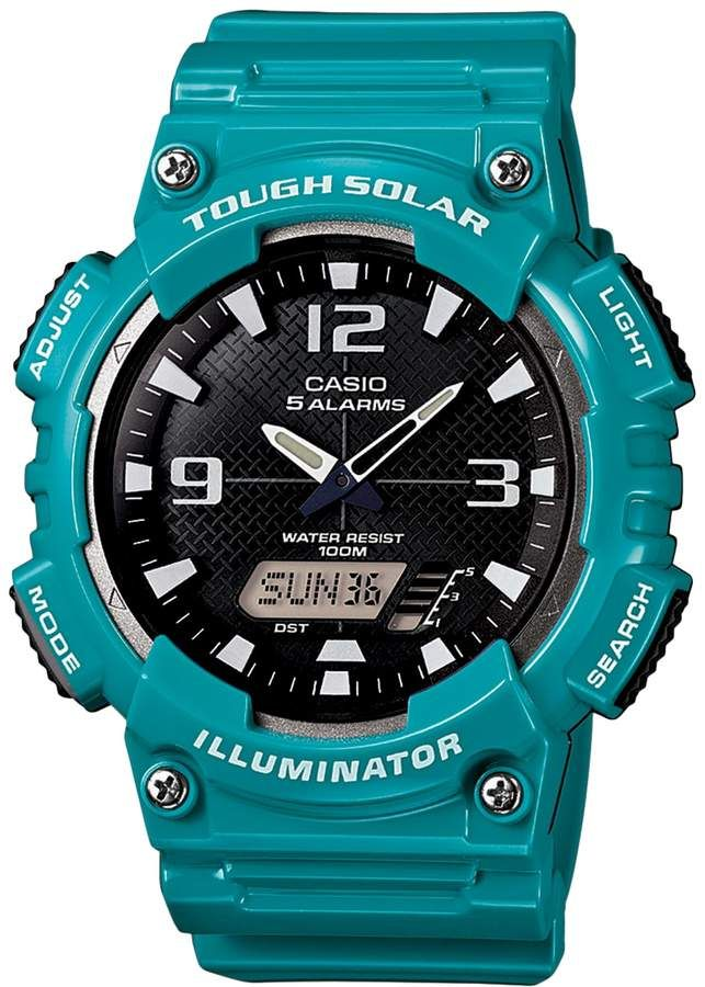 Casio Men s Tough Solar Illuminator Analog   Digital Watch - AQS810WC-3AVCFK 44dc37b2dede