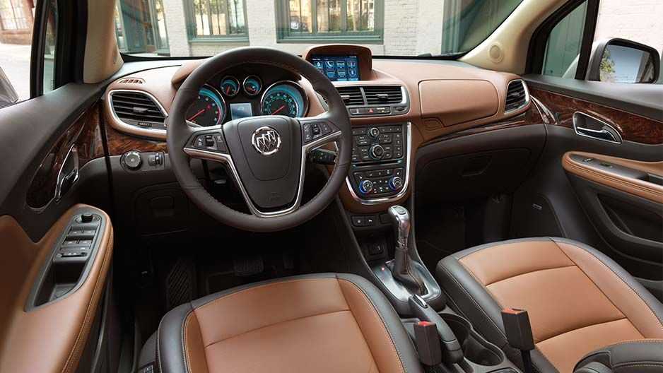 Dual Zone Climate Controls Available In The 2016 Buick Encore