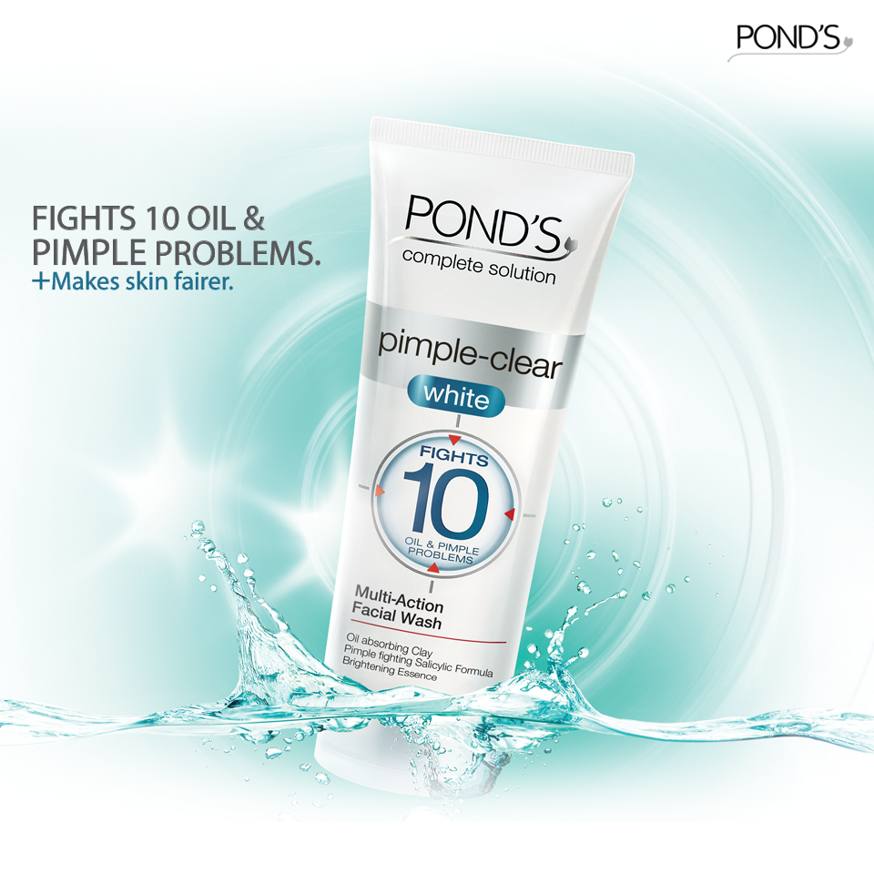 Oily Skin Is A Worry Of Yesterday With The Pond S Pimple Clear White Face Wash Agreed Girls Oily Skin Facial Wash Face Wash