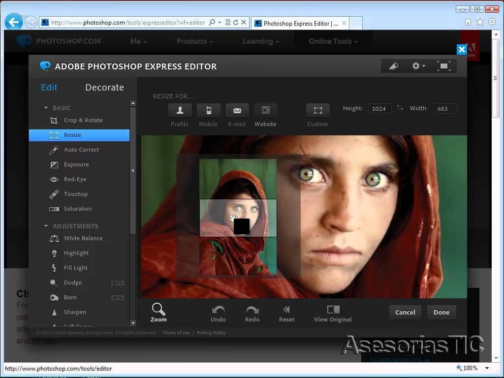 Video Tutorial Sobre Cómo Utilizar Adobe Photoshop Online Para Editar Photografías Photoshop Adobe Photoshop Fotografia