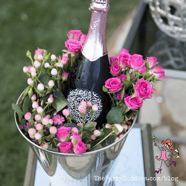 roses & rosé! sounds like a dreamy valentine's day girls' night, Ideas