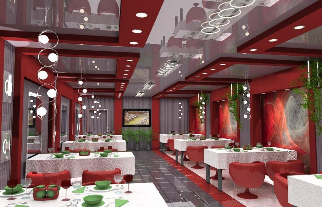 winsome design famous chairs. Interior design Winsome Re White Scheme Restaurant Design With  Dining Table Featuring Red