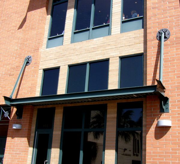I Beam Constructed Steel Awning In 2019 Steel Beams