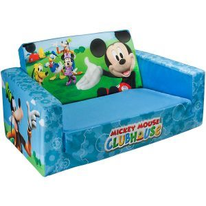 Mickey Mouse Flip Sofa Bed With Sleeping Bag Mickey Mouse Room