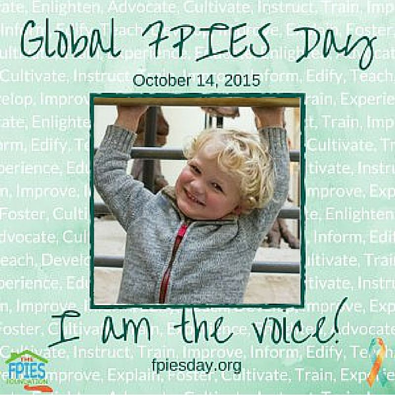 Global FPIES Day 2015: Be the Voice - | The voice, Global, Day