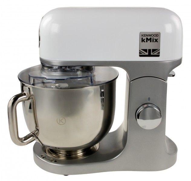 Comtechde Angebote Kenwood KMX750W Küchenmaschine weiß-silber - dunkelblaue kche