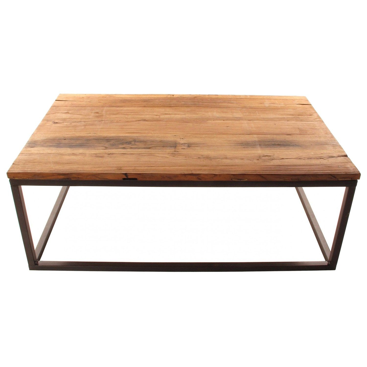 This Modern Coffee Tables Top Gives New Life To Reclaimed