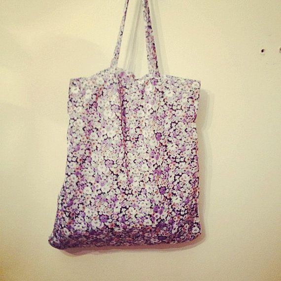 Floral bag. £10.00, via Etsy.