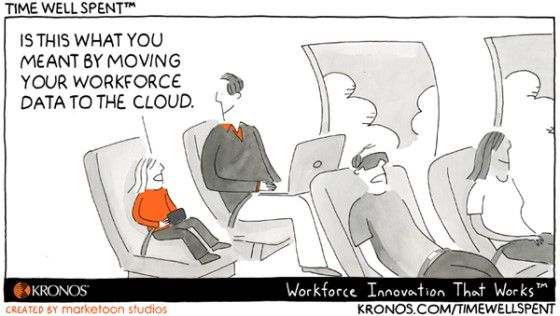 The cloud allows us to be productive from anywhere.