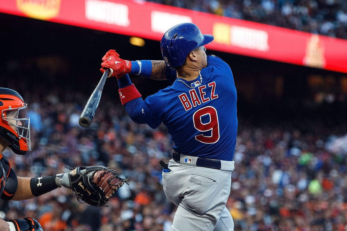 Javier Baez Chicago Cubs 9 Cubs Players Chicago Cubs Cubs Win