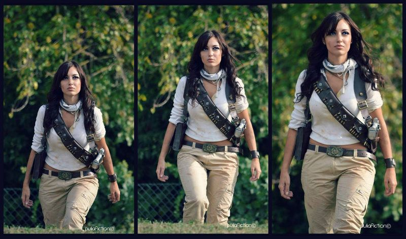 Natalie Drake - Uncharted 3: Walking by Eilaire