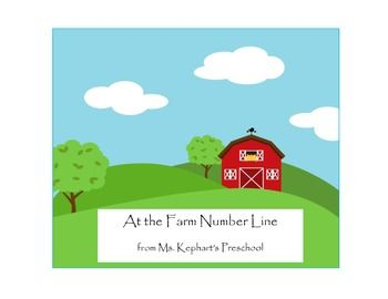 Number Line 1 - 10 At the Farm