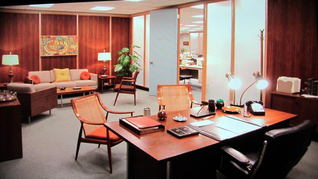 don draper office. \u0027MAD MEN\u0027Y EL RETRO QUE NUNCA MUERE| Mid Century Don Draper Office C