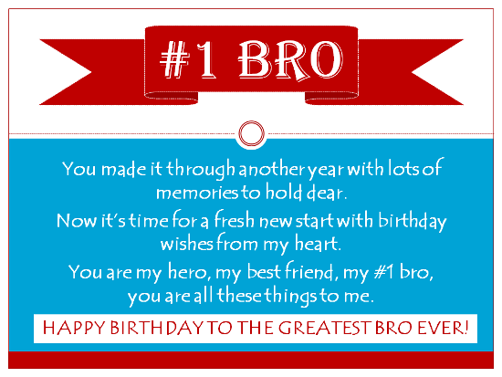 Happy Birthday Poems From Sister To Brother 6 Best Web For