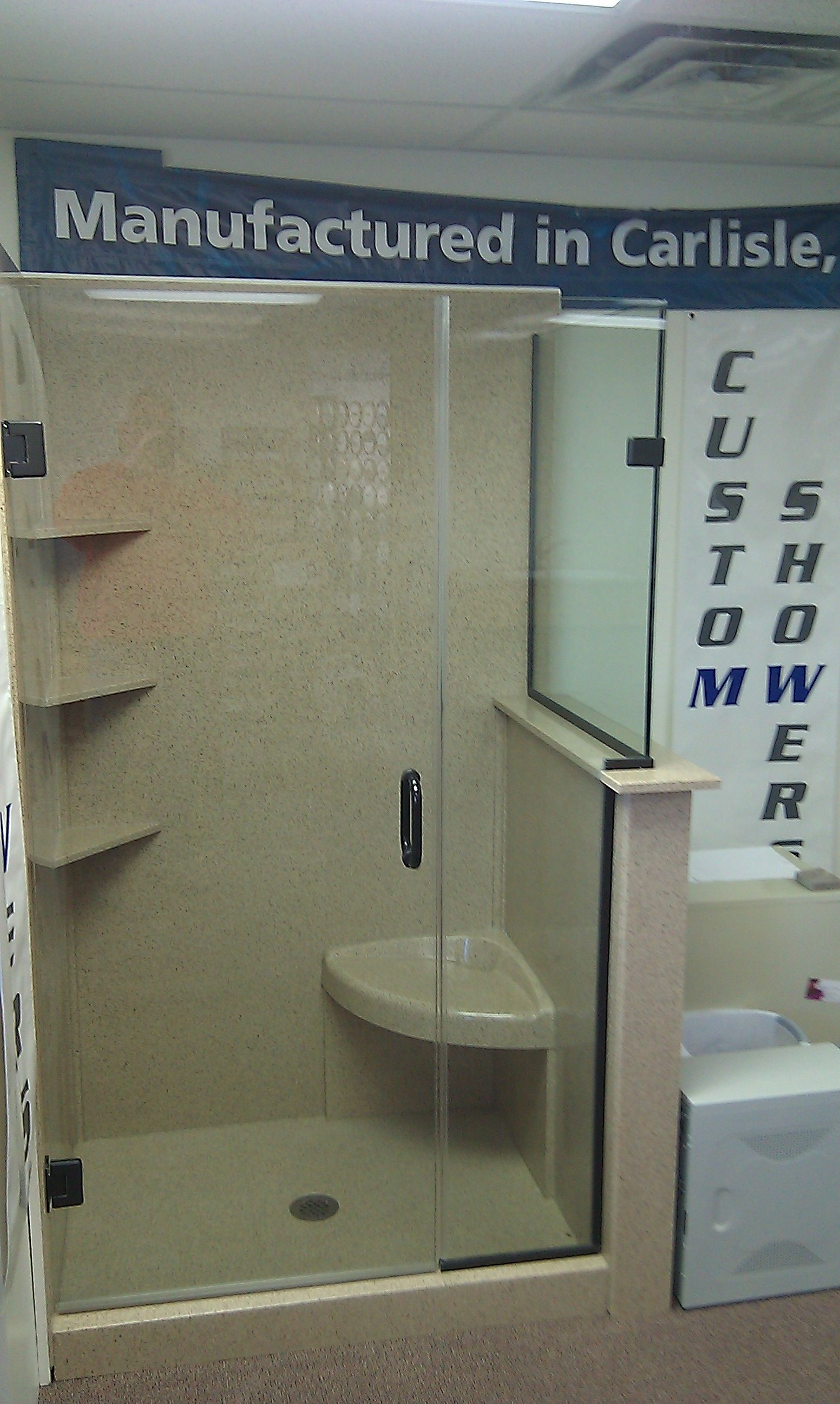 We can create an affordable and Quality shower for any space ...