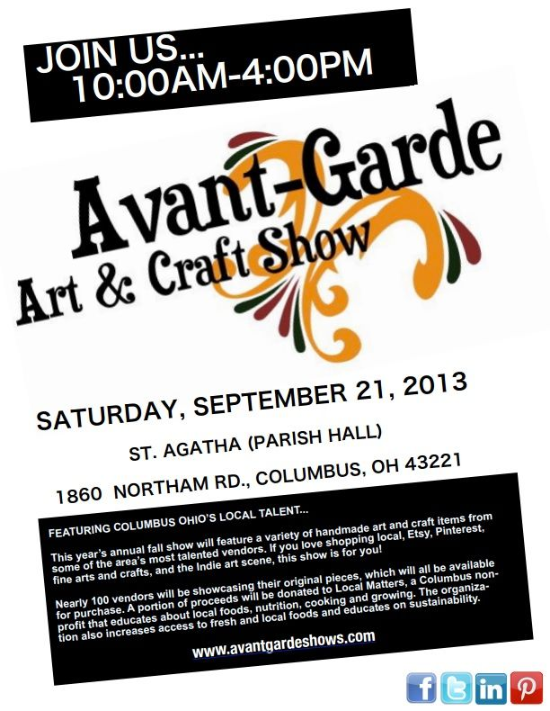 Art and Craft Show Flyer, like the slanted look    3bp - talent show flyer