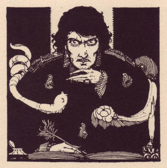 Harry Clarke Poe illustrations