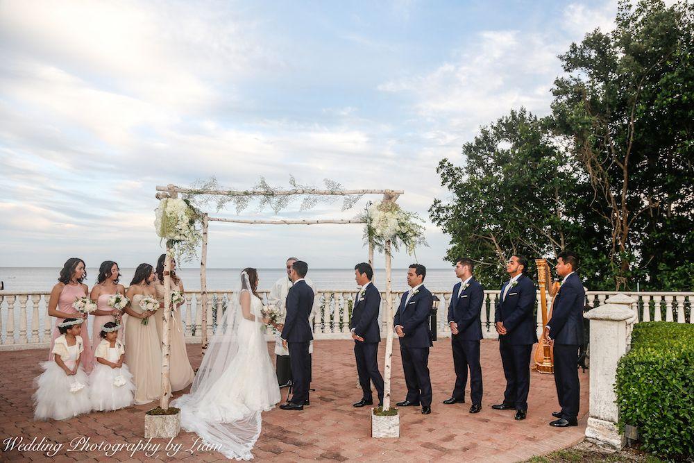 Thalatta Estate Is The Perfect Venue For Weddings Overlooking The Ocean 3 Wedding Mi Miami Wedding Photographer Wedding Videographer Wedding Photographers