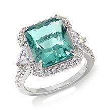Jean Dousset 11.62ct Absolute™ and Green Flourite Ring