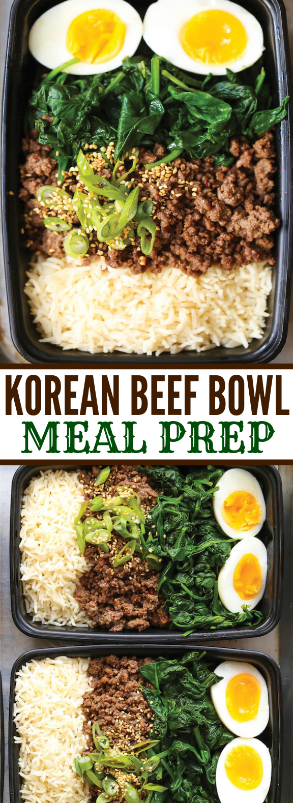 Photo of KOREAN BEEF BOWL MEAL PREP #lunch #bbq
